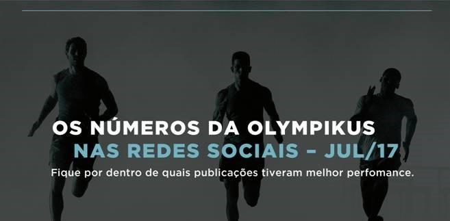 Olympikus nas redes sociais
